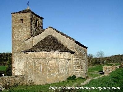 Santa Maria de Isún de Basa (S. IX). Foto gentileza de RomanicoAragones.com
