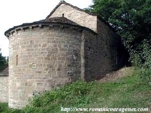 San Andrés de Sorripas (S. XI). Foto gentileza de RomanicoAragonés.com