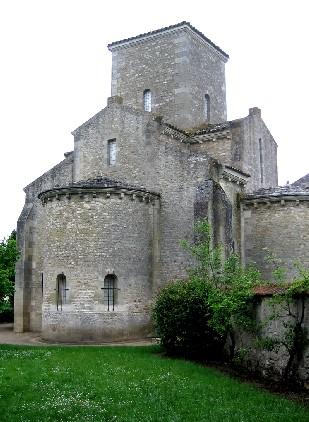 Ábside de Saint Germigny-des-Prés (806)