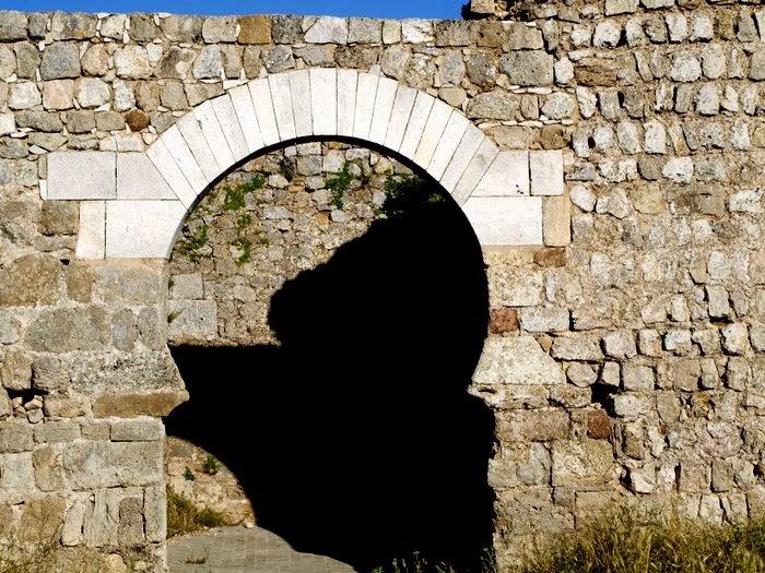 Puerta de arco de herradura