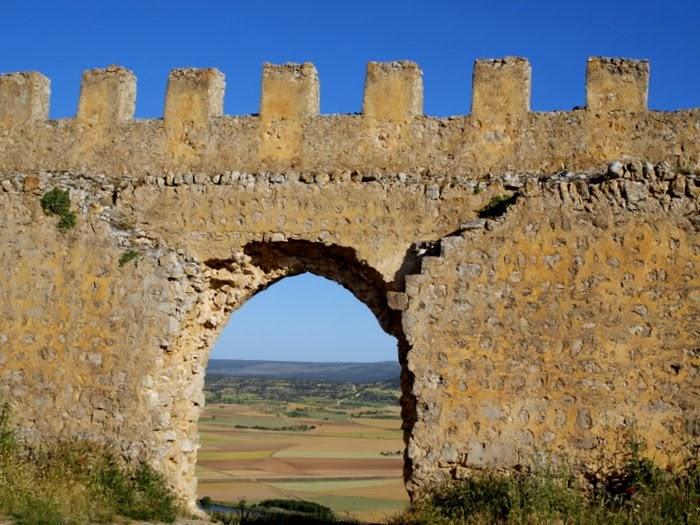 Entrada principal a la fortaleza