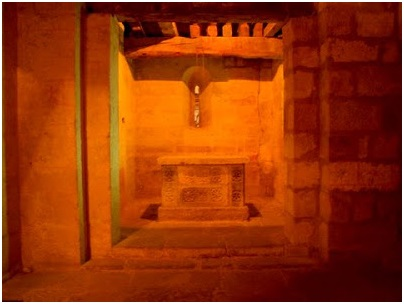 Altar de la cripta