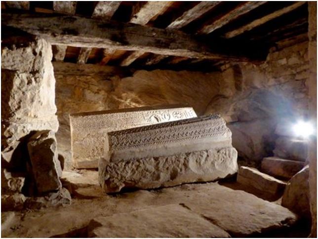 Sarcófagos de los caballeros de San Juan de Jerusalén