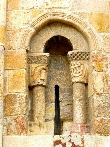 Arco de la fachada sur
