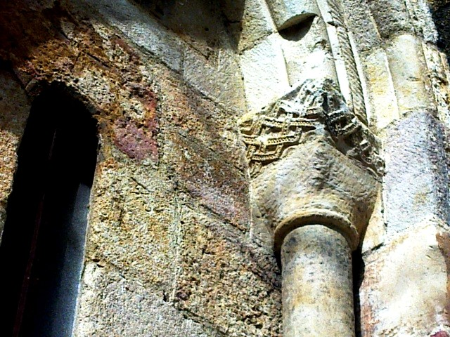 Detalle capitel izqda nave izqda testero S.XI