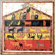 Arca de Noé. Beato de Fernando I, S. XI