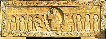 Dintel de Sant Genis-les-Fonts. Año 1019