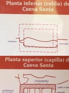 Estructura de la Cueva Santa de Liébana