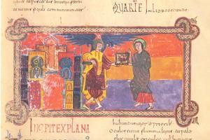 Beato de San Miguel de Escalada (945), detalle