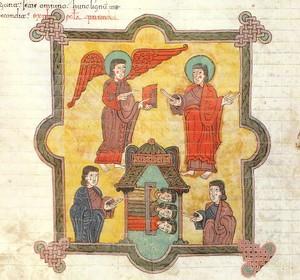 Beato del Burgo de Osma (1086), detalle