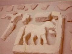 Restos de cancel de la basílica de Elche