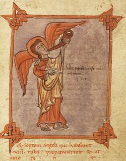 El ángel con la trompeta