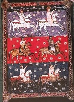 El blanco ejército de Dios, jinete Fiel y Veraz