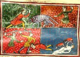 La captura de la bestia y del falso profeta