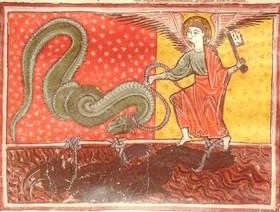 La captura de la bestia y el falso profeta