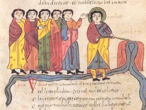 Folio 46v: Moisés ordena que se mate a los infieles