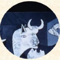 Guernica. Detalle del toro