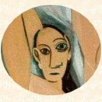 Detalle de las Señoritas de Avignon