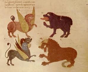 Las cuatro bestias de Daniel