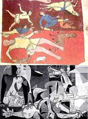 ¿Conocía Picasso el Beato de Saint Sever cuando pintó el Guernica?