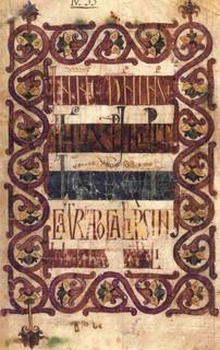 Folio 1r (Siglo X).