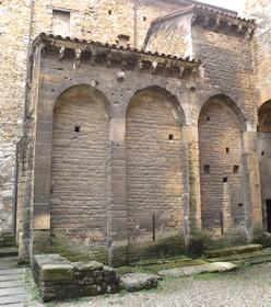 Cámara Santa de Oviedo: vista general