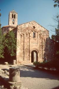 Fachada oeste de Santa María.