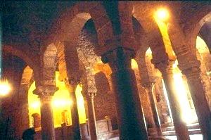 Interior de San Miguel de Tarrasa