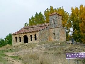 Ermita de Santa Cecilia: Vista general desde el sureste