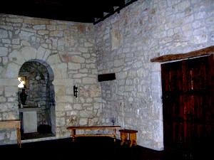 Ermita de Santa Cecilia: Vista general del interior de la ermita