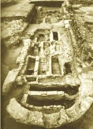 Iglesia martirial de Marialba: Estado de los restos durante las excavaciones de Schlunk y Hauschild en 1978