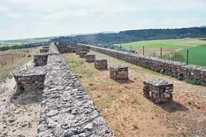 Recópolis: Palacio, vista de su estado actual