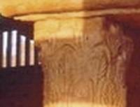 San Giao de Nazaré: Detalle de capitel