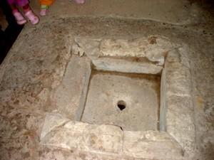 Santianes de Pravia: Baptismal font of Paleo-Christian type