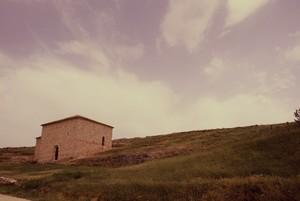 San Baudelio de Berlanga: En un páramo reseco encontramos este edificio de discreta imagen exterior.