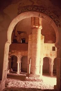 San Baudelio de Berlanga: Vista interior desde el ábside