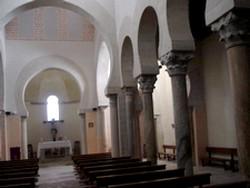 San Cebrián de Mazote: Vista general de su interior.