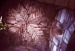 Santa Comba de Bande: Detalle de la bóveda de crucero