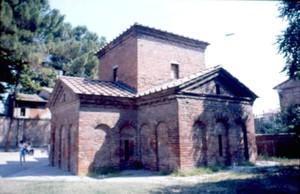 Mausoleo de Gala Placidia. Rávena