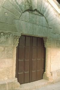 San Ginés de Francelos: Portada principal.