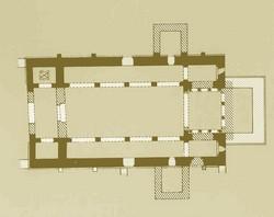 Santiago de Gobiendes: Planta según Manzanares