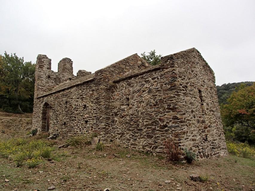 Sant Martí de Bautssies. Vista general de la iglesia desde el noreste