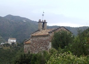 Santa Margarida de Cairat: Vista general de la ermita