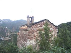 Santa Margarida de Cairat: Vista de la cabecera