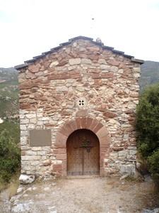 Santa Margarida de Cairat: Acceso actual en el lado oeste