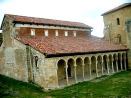 San Miguel de Escalada. Una de las primeras iglesias mozárabes.