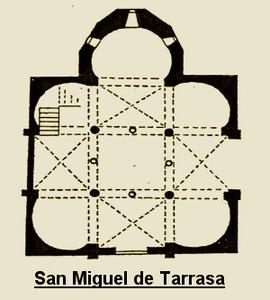 Planta de San Miguel de Tarrasa