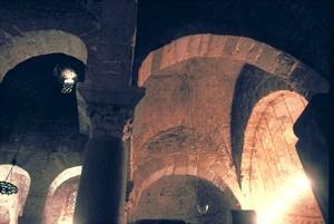 San Miguel de Tarrasa. Detalle de las bóvedas