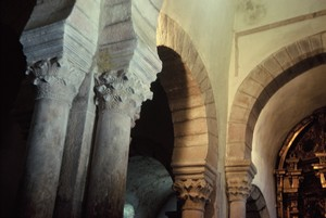 Vista de la estructura interior