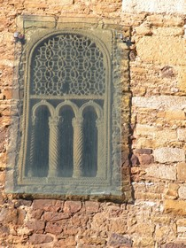 Detail of the only window left in the southern side